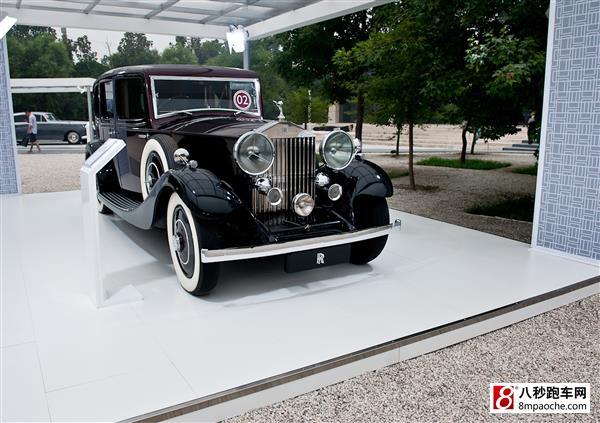 劳斯莱斯中国十周年庆典 老爷车齐聚