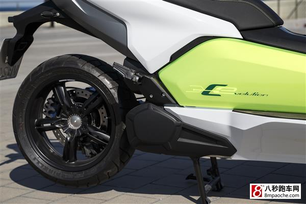 宝马全新c evolution电动摩托车